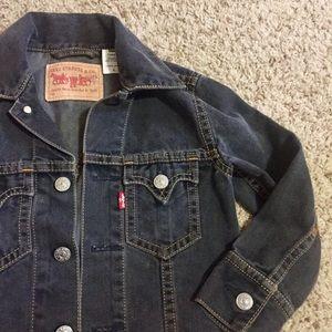 Levi's Western Cropped Denim Jacket